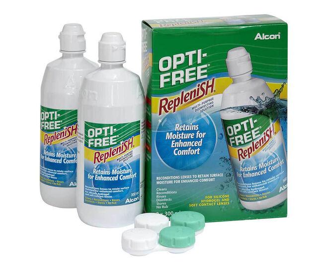 Opti-Free RepleniSH Duo Pack