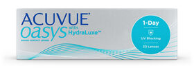 Acuvue Oasys 1 Day with HydraLuxe, 30, primary