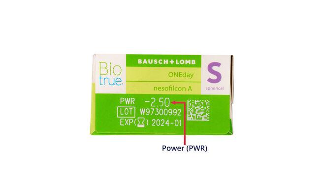 Biotrue One Day, 30, side-pack