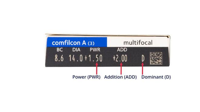 Biofinity Multifocal, 3, side-pack