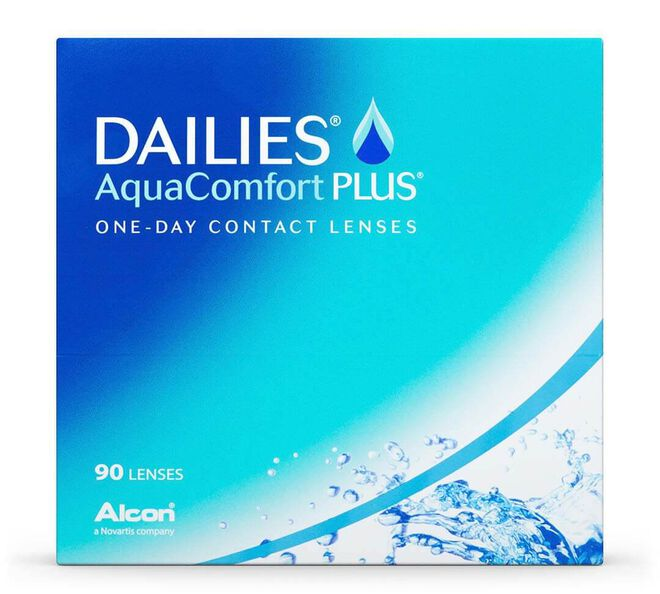 Dailies AquaComfort Plus 90 Pack, 90, primary