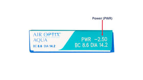 Air Optix Aqua, 3, side-pack
