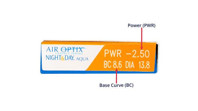 Air Optix Night & Day Aqua, 3, side-pack