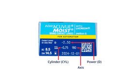 1 Day Acuvue Moist for Astigmatism, 30, side-pack