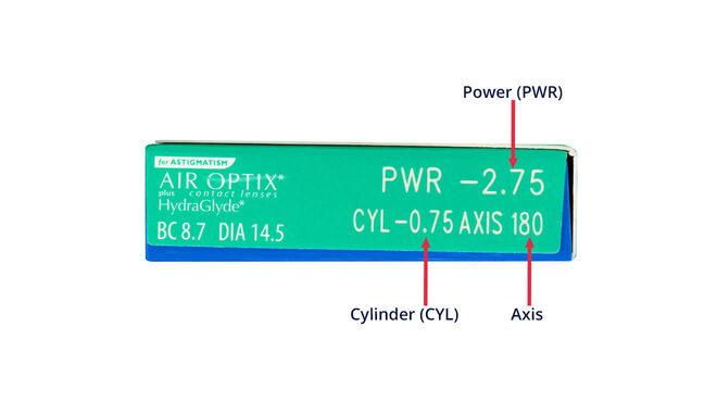 Air Optix plus HydraGlyde for Astigmatism, 3, side-pack