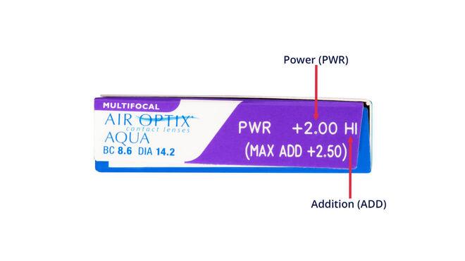Air Optix Aqua Multifocal, 3, side-pack