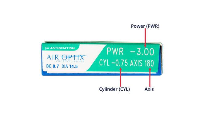 Air Optix for Astigmatism, 3, side-pack
