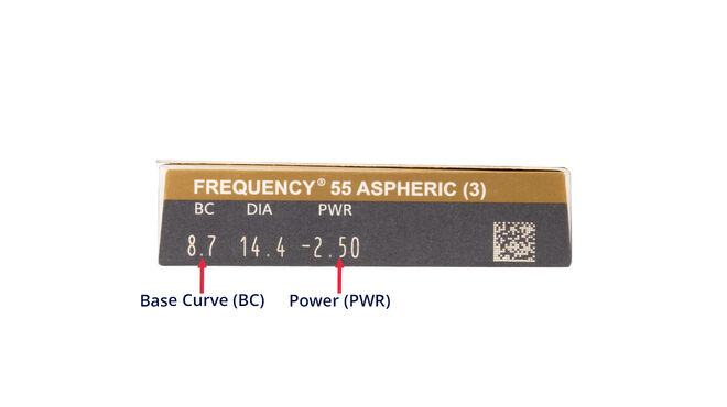 Frequency 55 Aspheric, 3, side-pack