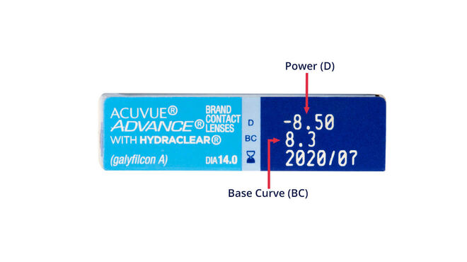 Acuvue Advance, 6, side-pack
