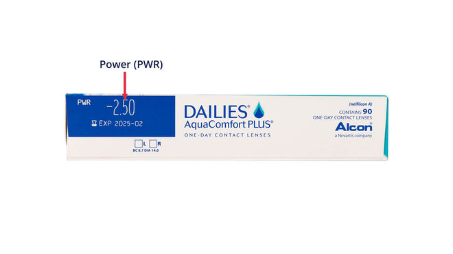 Dailies AquaComfort Plus 90 Pack, 90, side-pack