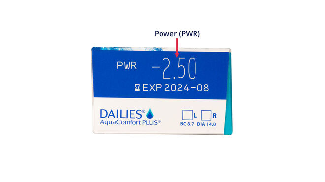 Dailies AquaComfort Plus, 30, side-pack